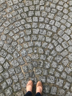 Paris cobblestones