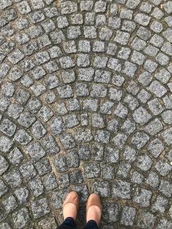 Paris cobblestones