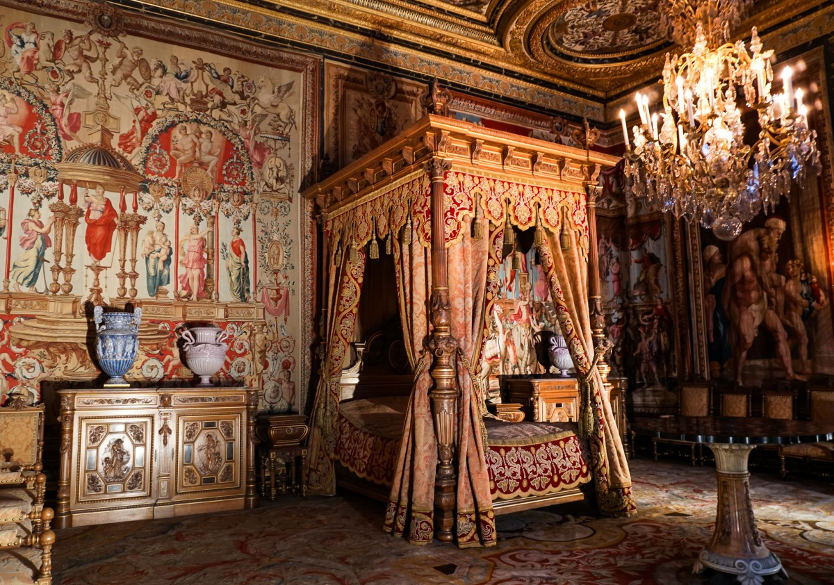 If you thought Versailles was fancy...