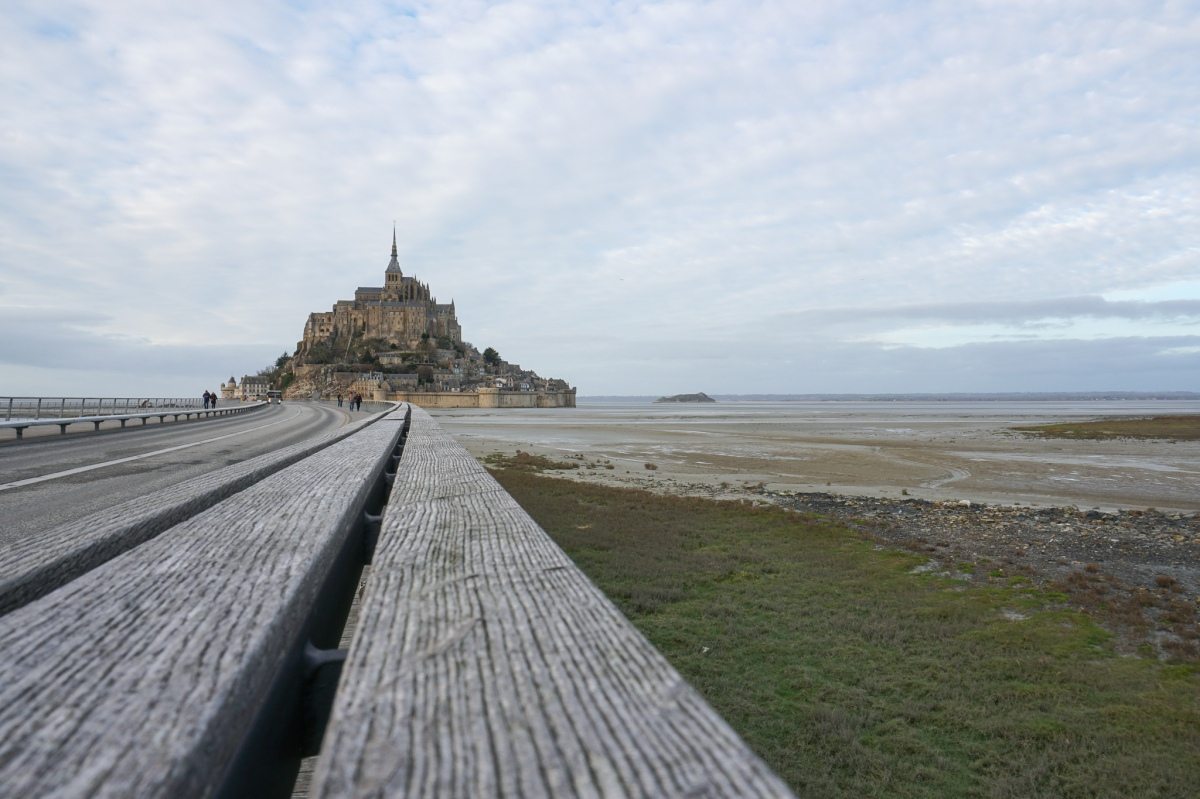 The grand finale: Mont Saint Michel